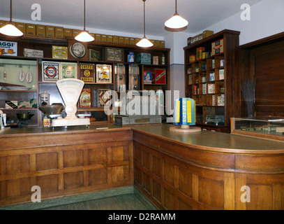 Germany Nuremberg Industry Museum nostalgic Grocery shop - Stock Photo