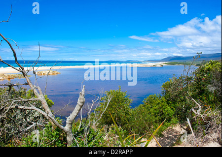 Lonely Beach on the East Coast of Tasmania, Australia, Pacific - Stock Photo