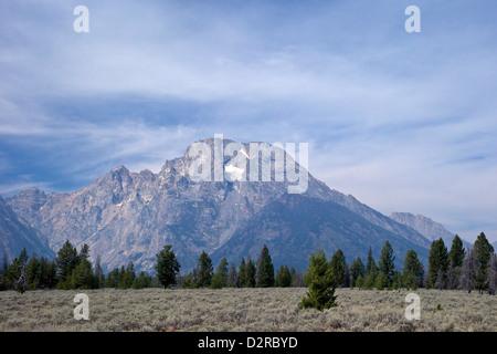 Mount Moran, Grand Teton National Park, Wyoming, United States of America, North America