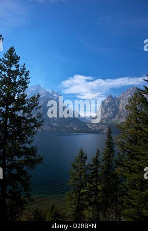 Jenny Lake, Grand Teton National Park, Wyoming, United States of America, North America - Stock Photo