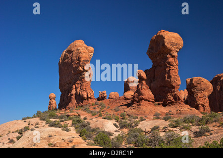 Garden of Eden, Arches National Park, Moab, Utah, United States of America, North America