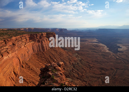 Buck Canyon Viewpoint, Canyonlands National Park, Utah, United States of America, North America - Stock Photo