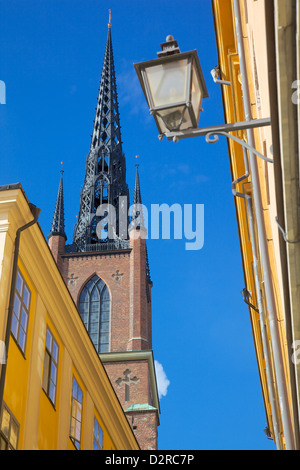 Riddarholmskyrkan (Riddarholmen Church), Riddarholmen, Stockholm, Sweden, Europe - Stock Photo