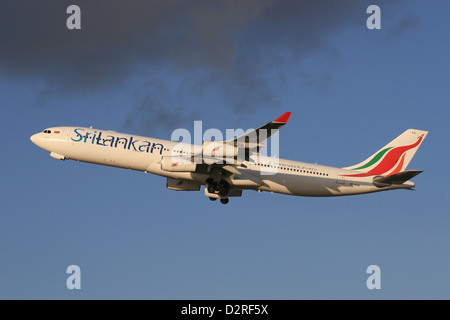 SRILANKAN AIRLINES A340 AIRBUS - Stock Photo