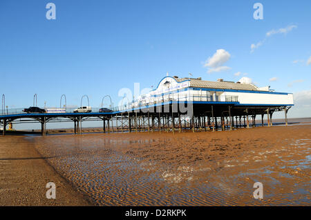 31st January 2013. Cleethorpes Pier, North East Lincolnshire, UK. The 335ft (102m) Pier opened in 1873 and is due - Stock Photo