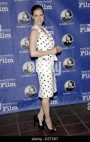 Santa Barbara, California, USA. 31st January 2013. Amy Adams at arrivals for Santa Barbara International Film Festival - Stock Photo