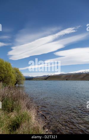 Rivercreek near Cromwell,New Zealand - Stock Photo