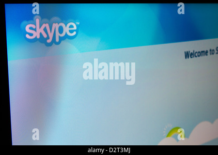 Enjoy widescreen Skype video calls from the confort of your