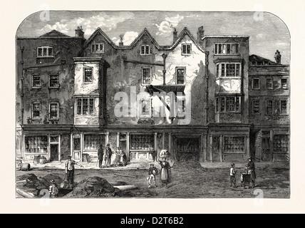 OLDBOURNE HALL SHOE LANE 1823 LONDON - Stock Photo