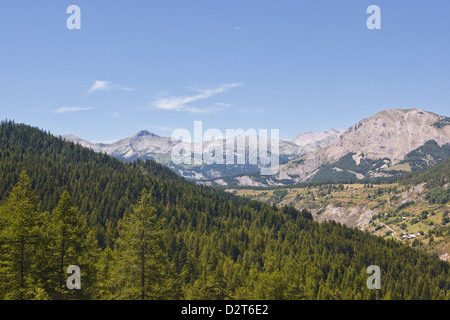 The southern Alps in the Parc National du Mercantour near Allos, Alpes-de-Haute-Provence, Provence, France, Europe - Stock Photo