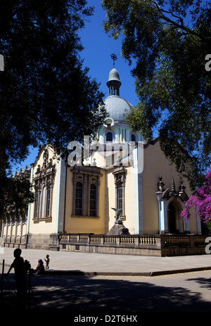 Trinity Cathedral (Church of the Holy Trinity), Addis Ababa, Ethiopia, Africa - Stock Photo