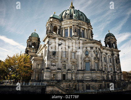 Berlin Cathedral (Berliner Dom), Berlin, Germany, Europe - Stock Photo