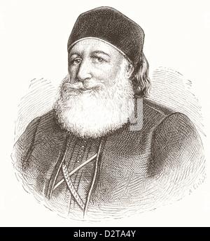 Muhammad Ali Pasha al-Mas'ud ibn Agha, 1769 –1849. Albanian commander in Ottoman army, Wāli and self-declared Khedive - Stock Photo