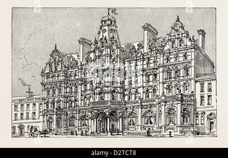 WEYMOUTH: VIEW OF THE PROPOSED NEW GRAND HOTEL - Stock Photo