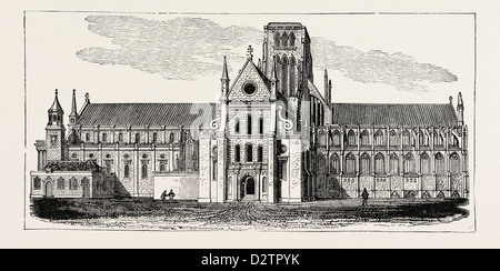 OLD ST. PAUL'S CATHEDRAL. - Stock Photo