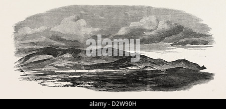 THE CRIMEAN WAR: THE SIEGE OF SEBASTOPOL: PORTION OF REDOUBT OCCUPIED AND EVACUATED BY THE RUSSIANS 1854 - Stock Photo