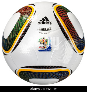 Germany, Adidas JABULANI, official ball of the FIFA World Cup 2010 - Stock Photo
