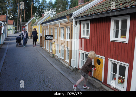 Vimmerby, Sweden, the small, small town in Astrid Lindgren's World - Stock Photo