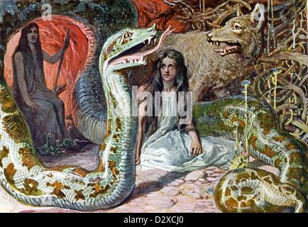 In Norse mythology, Baldr is the god of peace, light, and ... Lokis Children Norse Mythology
