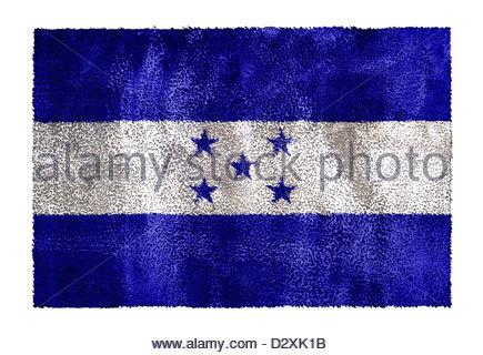 Honduras Flag - Stock Photo