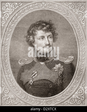 Ludwig I , 1786 –1868. German king of Bavaria. - Stock Photo