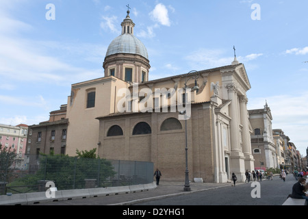 San Rocco church, Rome - Stock Photo