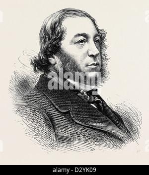 THE LATE BARON MEYER DE ROTHSCHILD 1874 - Stock Photo