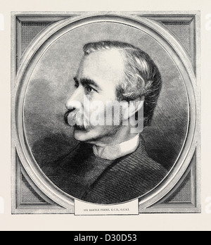 SIR BARTLE FRERE, K.C.B., G.C.S.I. - Stock Photo