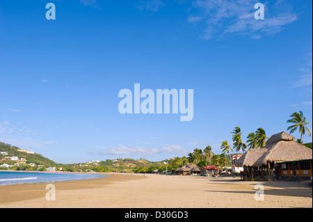 beach at San Juan del Sur, Nicaragua, Central America - Stock Photo