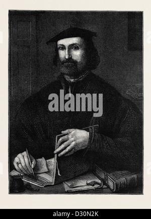LUDOVICO ARIOSTO, BORN SEPTEMBER 8, 1474; DIED JUNE 6, 1533 - Stock Photo