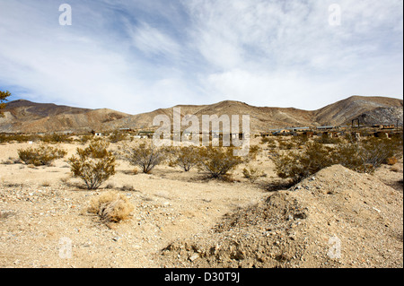 Ghost Town of Darwin, located between Death Valley and ...