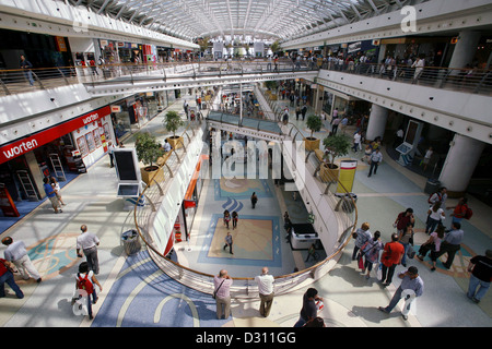 Vasco da Gama / Centro Casco da Gama Shopping Mall, Lisbon, Portugal - Stock Photo