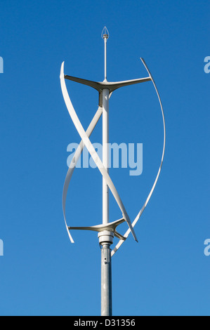 A Vertical Axis Wind Turbine Stock Photo Royalty Free