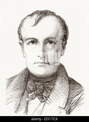 Hippolyte De La Roche, 1797 –1856, commonly known as Paul Delaroche. Frenchh artist. - Stock Photo