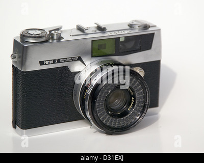 Petri 7 rangefinder camera - Stock Photo