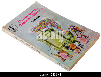 Charlie and the Chocolate Factory by Roald Dahl - Stock Photo