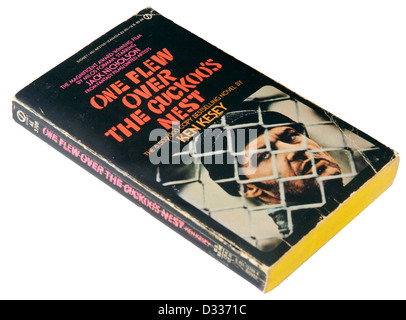 One Flew Over the Cuckoo's Nest by Ken Kesey - Stock Photo