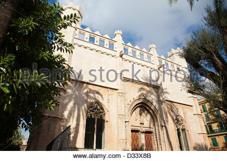 sa llotja,palma de mallorca,spain - Stock Photo