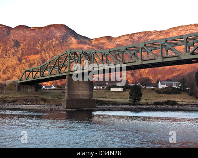 The Ballachulish bridge in the west highlands of Scotland, near Fort William and Glencoe - Stock Photo