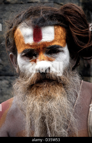 Pashupatinath Temple at Kathmandu - Stock Photo