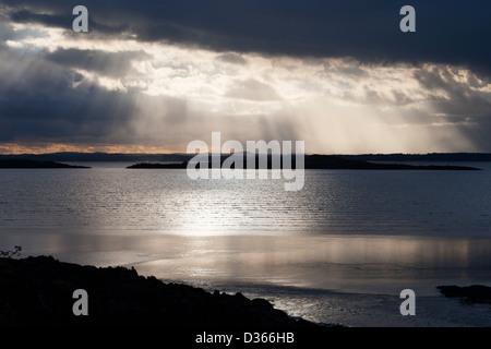 Carrick Shore, Dumfries and Galloway, Scotland - Stock Photo