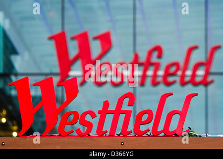 Westfield shopping centre - Stock Photo