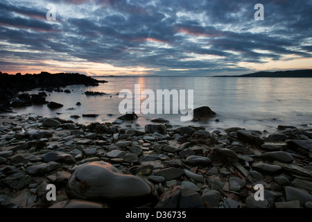 Carrick Shore, Dumfries and Galloway, Scotland - Stock Photo