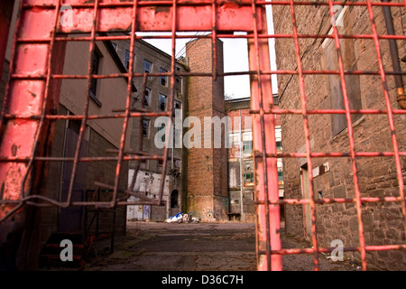 Scottish 1800`s Jute Mill owned by Baxter Brothers where Mary Slessor worked and is now a Listed Building in Dundee, - Stock Photo