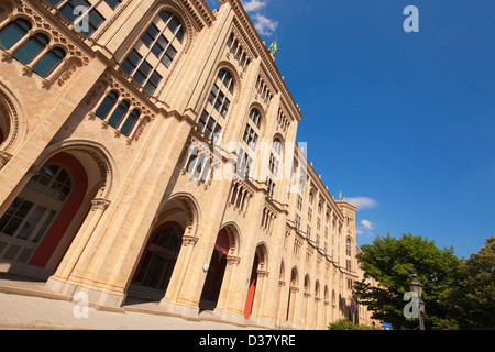 Regierung von Oberbayern, Munich, Bavaria, Germany - Stock Photo