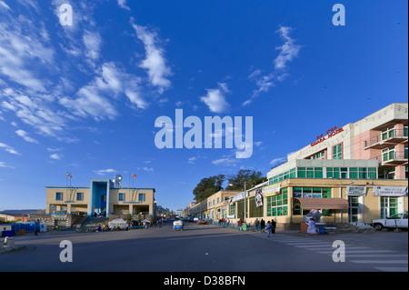 Gondar, the old capital of Ethiopia - Stock Photo