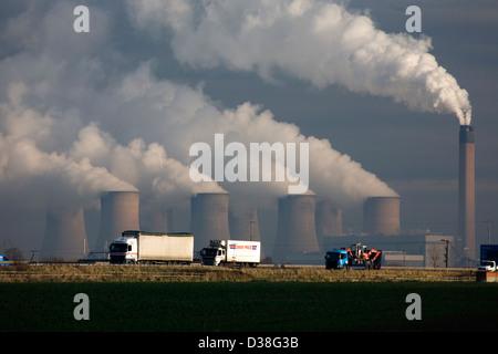 Eggborough Power Station , Yorkshire - Stock Photo