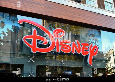 Disney store on Oxford Street, London - Stock Photo