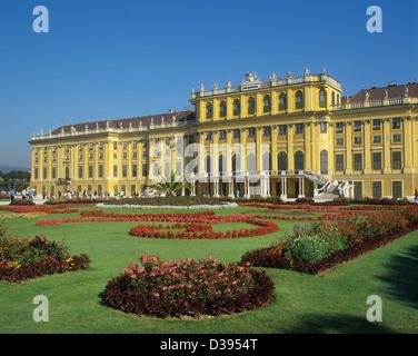 Austria, Vienna, Schönbrunn Palace - Stock Photo