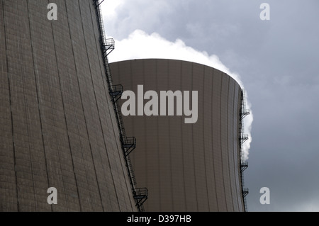 Emmerthal, Germany, the Grohnde - Stock Photo